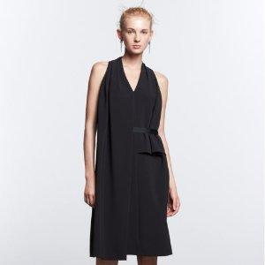 Women's Simply Vera Vera Wang Simply Noir Asymmetrical Dress