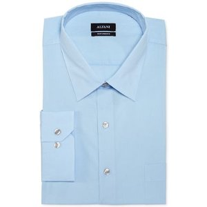 Alfani Big and Tall Solid Performance Dress Shirt - Dress Shirts - Men - Macy's