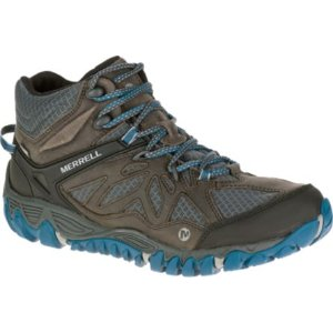 Men - All Out Blaze Ventilator Mid Waterproof - Grey/Multi | Merrell
