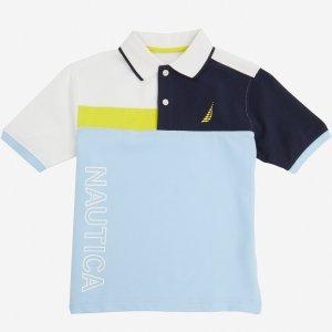 Boys' Nautica Heritage Polo Shirt (8-16) - Silver Lake Blue | Nautica