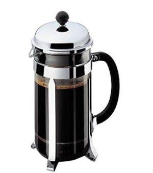 $36.12(原价$70)Bodum Chambord 32盎司不锈钢法式咖啡压壶