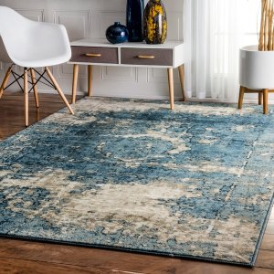 nuLOOM Traditional Vintage Fancy Grey Rug (5'3 x 7'8) - Free Shipping Today - Overstock.com - 17461416