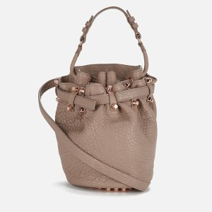 Alexander Wang Women's Diego Small Pebble Leather Bag - Latte - Free UK Delivery over £50