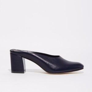 Maryam Mule in Navy by Maryam Nassir Zadeh