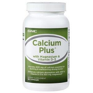 GNC Calcium Plus® with Magnesium & Vitamin D-3