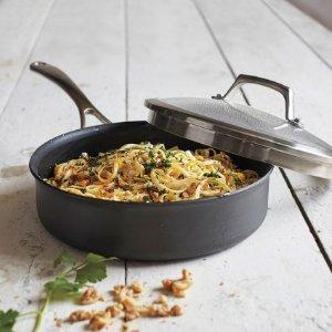 Sur La Table Dishwasher-Safe Hard-Anodized Nonstick Sauté Pan, 3 qt. | Sur La Table