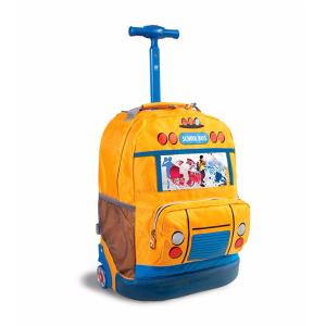 J World® School Bus Rolling Backpack | Bon-Ton