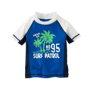 Kid Boy OshKosh Surf Patrol Rashguard | OshKosh.com
