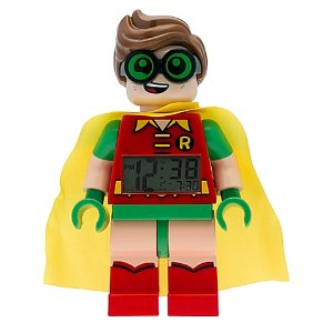 LEGO® Batman Movie Robin Minifigure Clock
