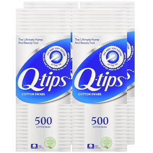 $8.974-Pack of 500-Count Q-Tips Cotton Swabs