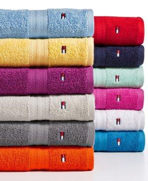 $4.99(原价$14)Tommy Hilfiger 纯棉大浴巾
