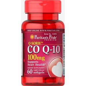 Q-SORB™ Co Q-10 100 mg 60 Softgels