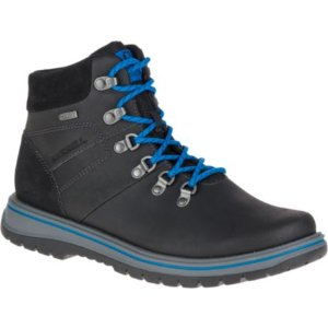 Men - Bounder Mid Thermo Waterproof - Black/Merrell Blue | Merrell