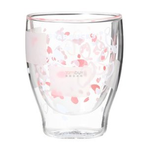 STARBUCKS Sakura Glass Mug 296ml 2017 Japan Sakura Limited Edition
