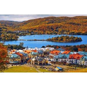 枫红魁北克•超值度假7天:魁北克+翠湖山庄+千岛湖+多伦多