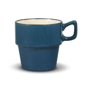 Gourmet Basics Alpine Blue Stackable Mug