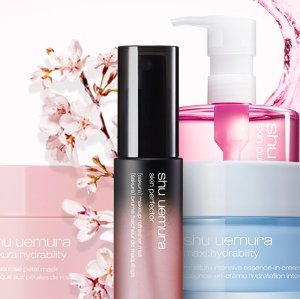 New Arrival!Spring 2017 Skincare Collection @ Shu Uemura
