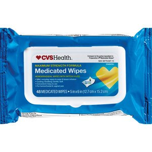 CVS Health Medicated Wipes, 48CT - CVS.com