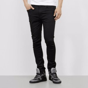 Skinny-Fit Experiential Denim with Seam Details | Kenneth Cole