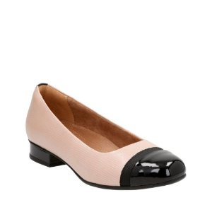 Keesha Rosa Dusty Pink Leather - Women's Flats - Clarks® Shoes Official Site