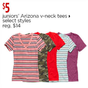 Arizona Shirts + Tops for Juniors - JCPenney