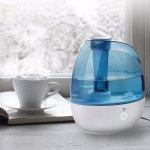 TaoTronics Humidifier, 2L Cool Mist Ultrasonic Humidifiers