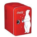 Koolatron Coca Cola KWC-4 6-Can Personal Mini 12-V Car Fridge