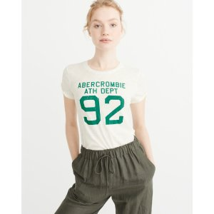 Womens Logo Graphic Tee | Womens Tees Sale | Abercrombie.com