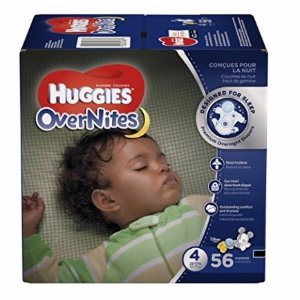 $11.62HUGGIES OverNites Diapers, Size 4, 56 ct., Overnight Diapers