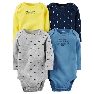 Baby Boy 4-Pack Original Bodysuits | Carters.com
