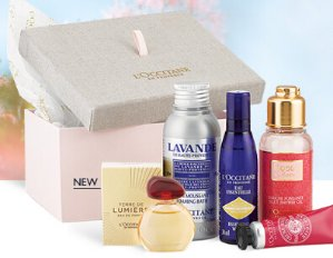 $20Spring Beauty Luxuries with Any $45 Purchase @ L'Occitane