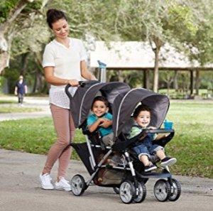 史低价 $95.87Graco DuoGlider 可折叠双座婴儿推车