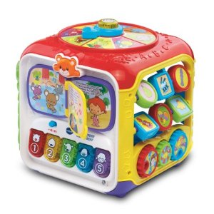 VTech Sort & Discover Activity Cube - Walmart.com