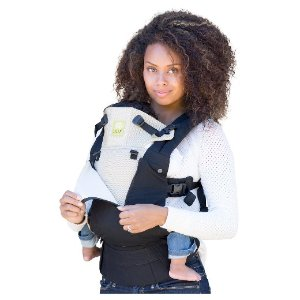 6-Position COMPLETE All Seasons Baby & Child Carrier - Black/Camel