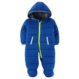 Zip-Front Snowsuit