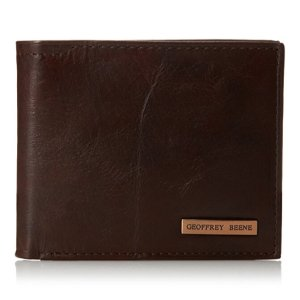 $9.73Geoffrey Beene Men's Double Billfold with Polished Plaque Logo