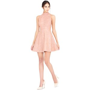 Hollie Embellished Racerback Short Gown | From Alice + Olivia