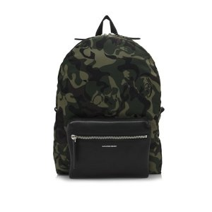 Alexander McQueen Camouflage Printed Backpack