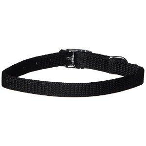 Catit Nylon Adjustable Cat Collar, Black