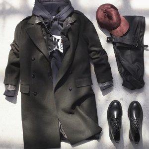 Up to 50% OFF+FSH&M Men's Sweater Hoodie Coat Winter Sale