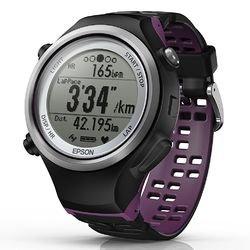 史低价 $109.99 (原价 $199)Epson Runsense SF-810 GPS 运动心率表