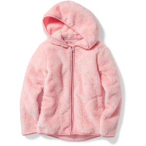 Cozy Full-Zip Jacket for Girls