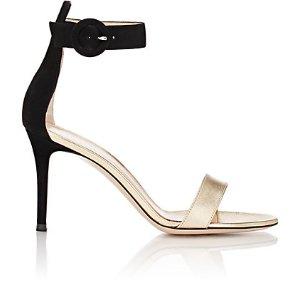 Gianvito Rossi Portofino Ankle-Strap Sandals | Barneys New York