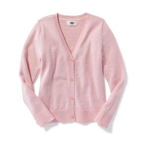 Uniform V-Neck Cardi for Girls