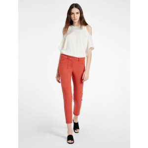 Slim Tapered Ankle Length Pant