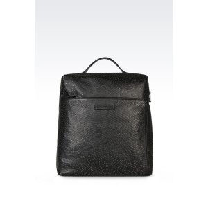 Emporio Armani Men Backpack, Bovine - Armani.com