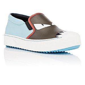 Buggies Leather Slip-On Sneakers