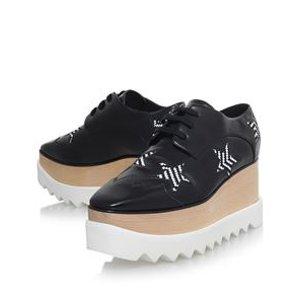 Stella McCartney Elyse Star Platform Shoes