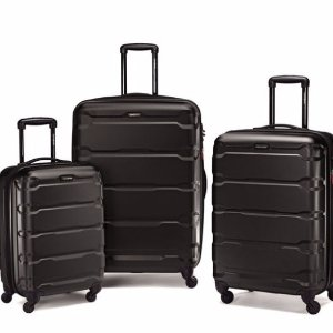 $207.19 Samsonite Omni PC 3 Piece Set Spinner 20 24 28