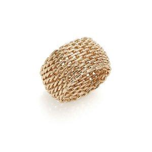 夸张编织戒指